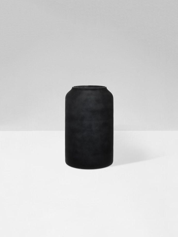Zakkia Deco Vase Black Frost Aura Home