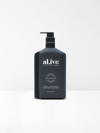 Coconut & Wild Orange Hand & Body Wash by Al.ive