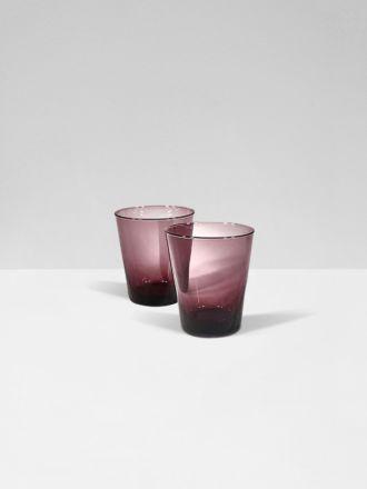 Blush Bora Bora Set of 2 Glasses by Bison