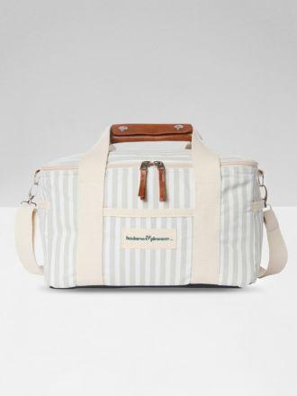 Premium Cooler by Business & Pleasure - Sage Stripe