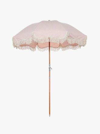 Premium Beach Umbrella - Pink Stripe