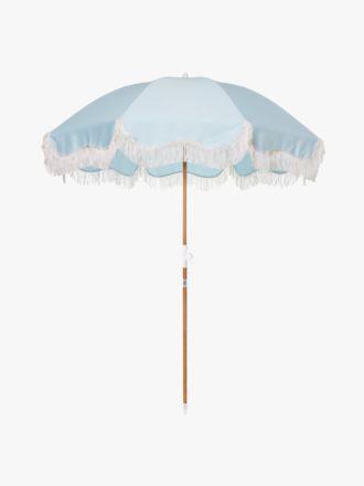 Holiday Beach Umbrella by Business & Pleasure - Santorini Blue