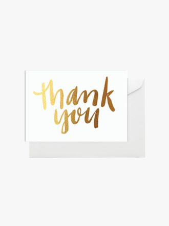 Thank You by Elm Paper