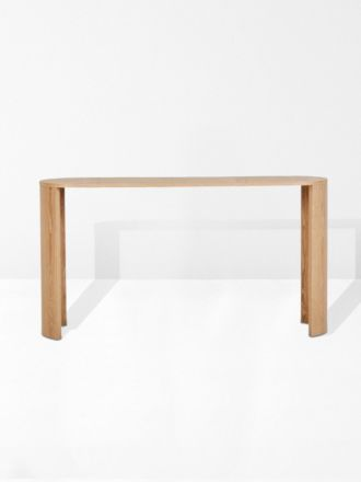 Classique Oval Console in Natural