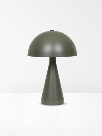 Easton Dome Table Lamp - Olive