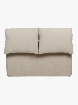 Felix Slouch Bedhead in Natural Stone - King