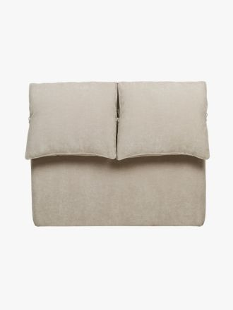 Felix Slouch Bedhead in Natural Stone - Queen