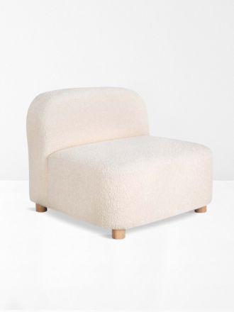 Gus Circuit Sofa Chair in Cloud