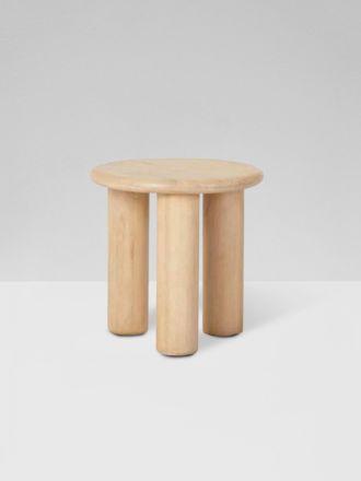 Linea Chubby Side Table - Oak