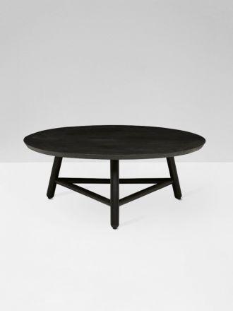 Linea Tri Base Coffee Table - Black