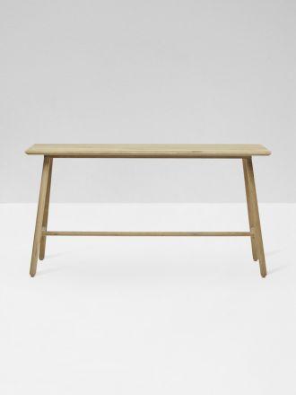 Linea Console Table in Oak