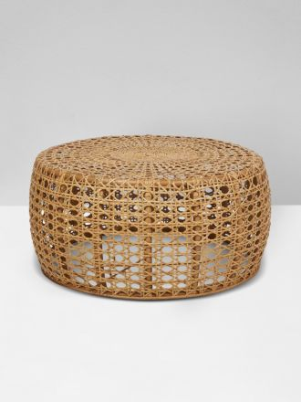 Tully Woven Coffee Table in Natural