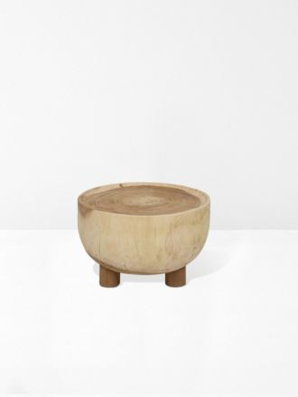 Woodland Drum Coffee Table in Natural