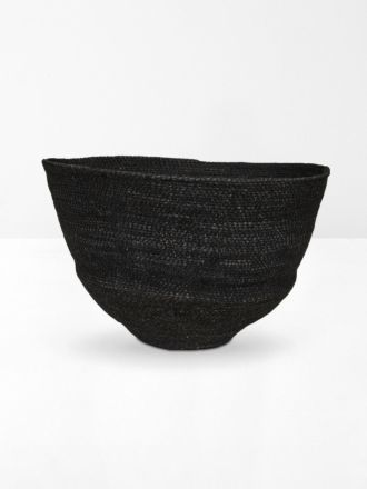 Black Lark Woven Bowl