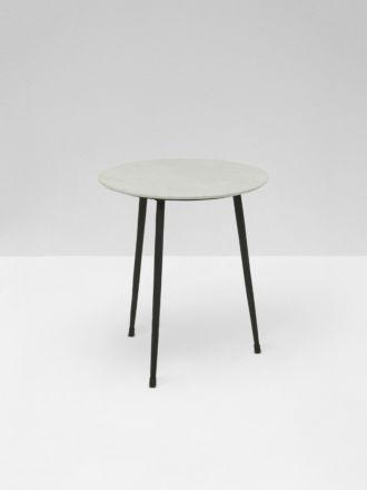 Ridge Marble Side Table