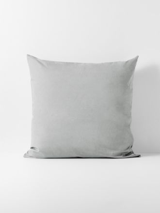 Halo Organic Cotton European Pillowcase - Pebble