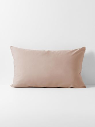 Halo Organic Cotton Standard Pillowcase - Rosewater