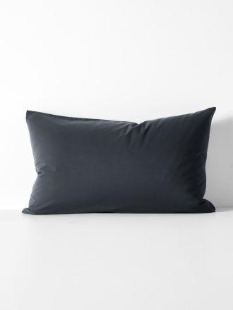 Halo Organic Cotton Standard Pillowcase - Steel