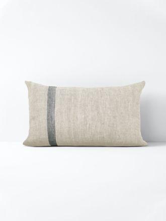 Herringbone Rectangle Cushion - Natural