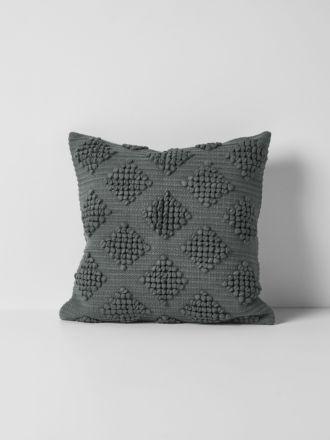 Husk Cushion - Charcoal