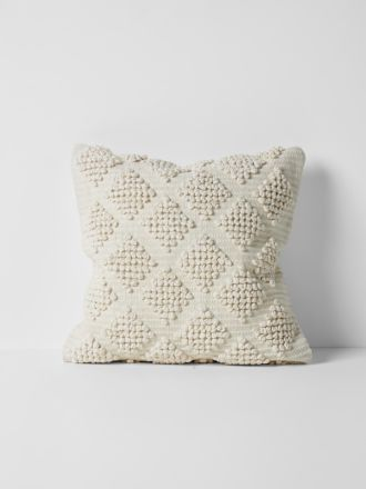 Husk Cushion - Ivory