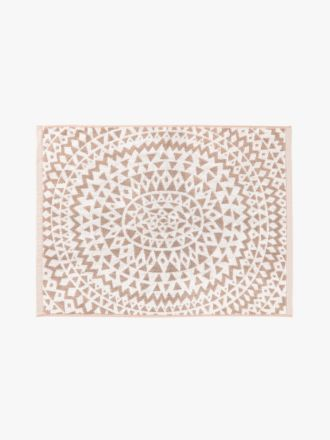 Inca Bath Mat - Pink Clay
