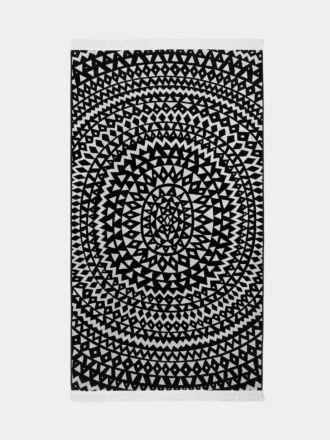 Inca Beach Towel - Black