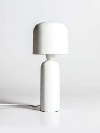 Bolzano Table Lamp by Indigo Love - White