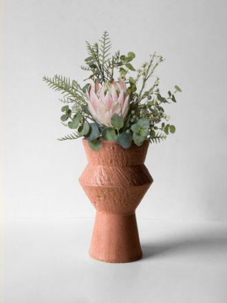 Larson Extra Large Vase - Terracotta
