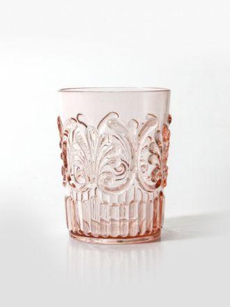 Flemington Acrylic Tumbler - Pale Pink