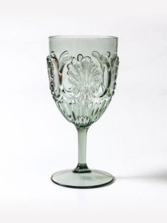 Flemington Acrylic Wine Glass - Green