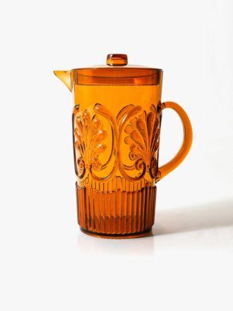 Flemington Acrylic Jug - Amber