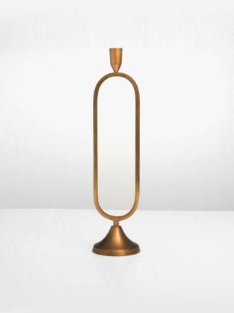 Jacobsen Taper Brass Candlestand by Indigo Love - Medium