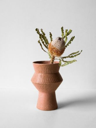 Larson Large Vase - Terracotta