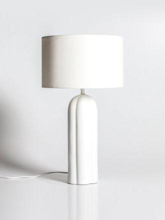 Sorrento Table Lamp by Indigo Love - White