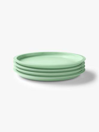 Kali Dinner Plate set of 4 - Peppermint