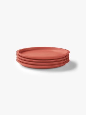 Kali Side Plate set of 4 - Coral