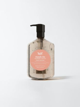 Hands-On Gel Hand Sanitiser 500ml by Leif