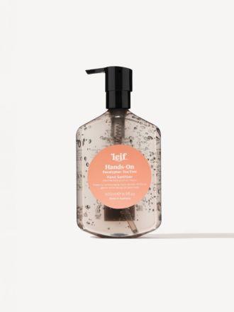 Hands-On Gel Hand Sanitiser 500ml by Leif
