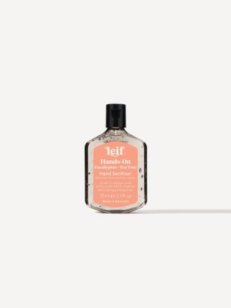 Hands-On Gel Hand Sanitiser 75ml by Leif