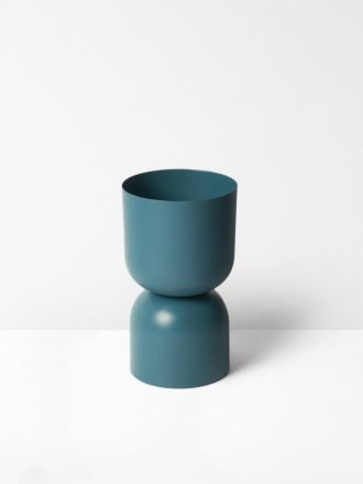 Teal Tone Planter by Lightly