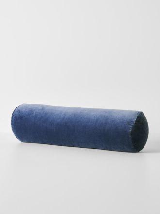 Luxury Velvet Bolster - Bijou Blue