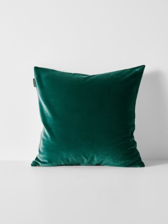 Luxury Velvet Cushion - Forest Night