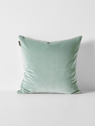 Luxury Velvet Cushion - Jade