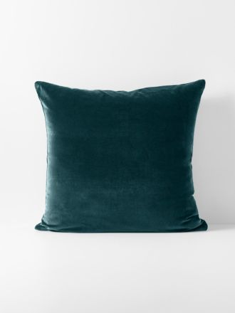 Luxury Velvet European Pillowcase - Indian Teal