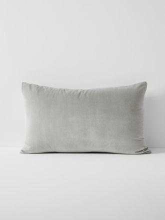 Luxury Velvet Standard Pillowcase - Dove