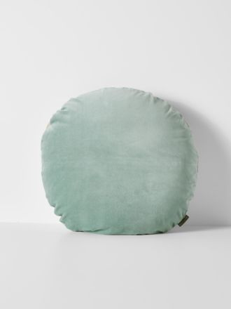 Luxury Velvet 55cm Round Cushion - Jade