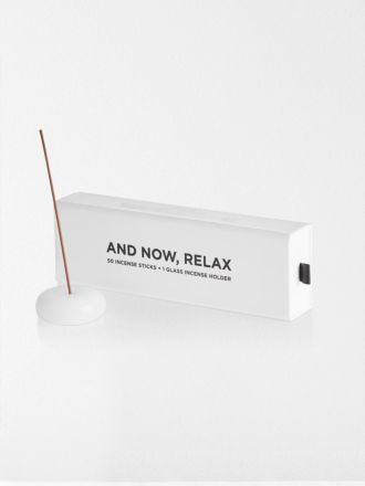 White And Now, Relax Incense Set by Maison Balzac