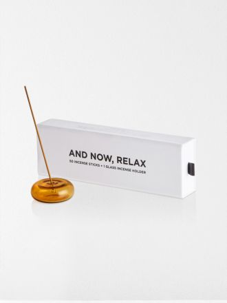 Amber And Now, Relax Incense Set by Maison Balzac