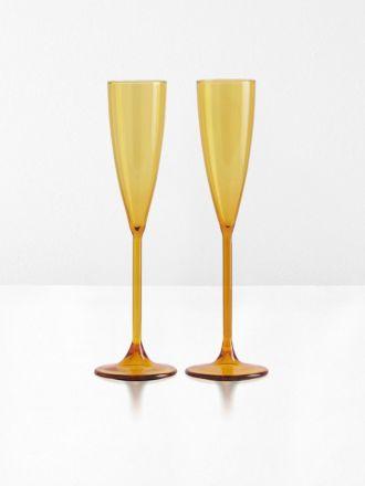 Champagne Flutes Set of 2 by Maison Balzac - Miel